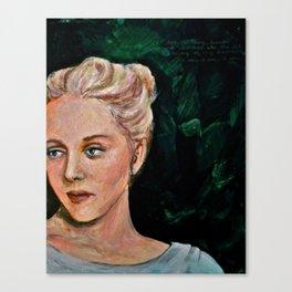 Sylvia Canvas Print