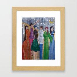Desert Women Framed Art Print