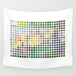 Georges Seurat Remixed (2009) Wall Tapestry