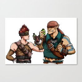 Blank and Marcus Canvas Print