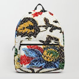 Antique Floral Vintage Pattern Design Backpack