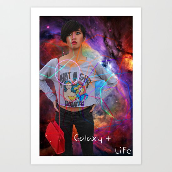 Galaxy Life Art Print