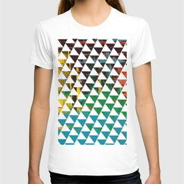 Color Chrome -geometric graphic T-shirt
