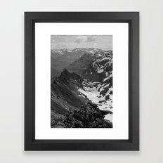 Archangel Valley Framed Art Print