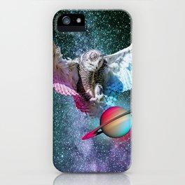 Cloaking Saturn iPhone Case