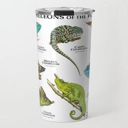 Chameleons of the World Travel Mug