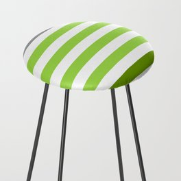 Stripes Gradient - Green Counter Stool