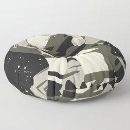 Werewolf in the Moon Floor Pillow