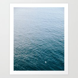 Serenity At Sea Art Print