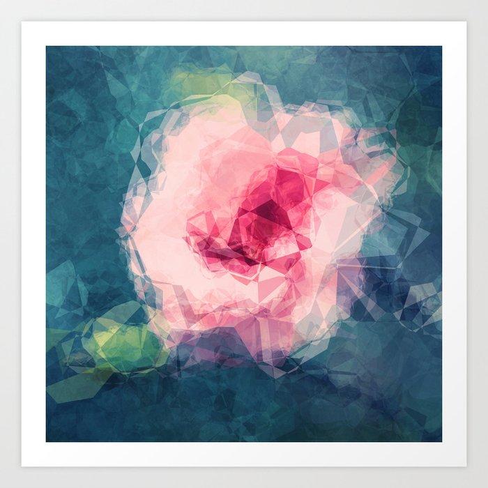 Abstract Flower II Art Print