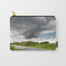 Biebrza road landscape Carry-All Pouch