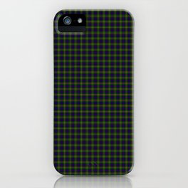 Clan Ranald Tartan iPhone Case