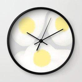 Egg / poster, art print, pictures, scandinavian, nursery, deco, saying, christmas, sarcasm, eg Wall Clock
