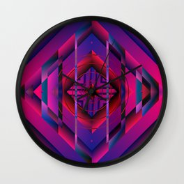 Mysterious world Wall Clock