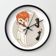Dexter (Alphabet series TV) Wall Clock