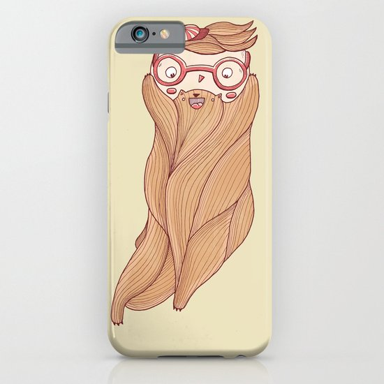 Bear Beard iPhone & iPod Case