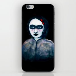 Carnival Lady iPhone Skin