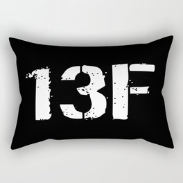 13F Fire Support Specialist Rectangular Pillow