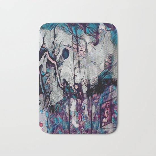 Within This Strange And Frightening World Bath Mat