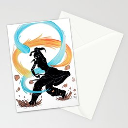 The Legend of Korra Stencil Stationery Cards