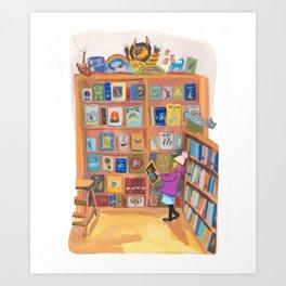 Books of Wonder Art Print
