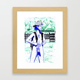 Outdoors Framed Art Print