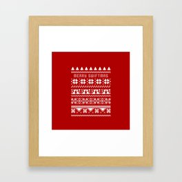 Marry SwiftMas Framed Art Print