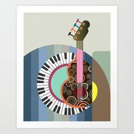 Music Theory II Art Print