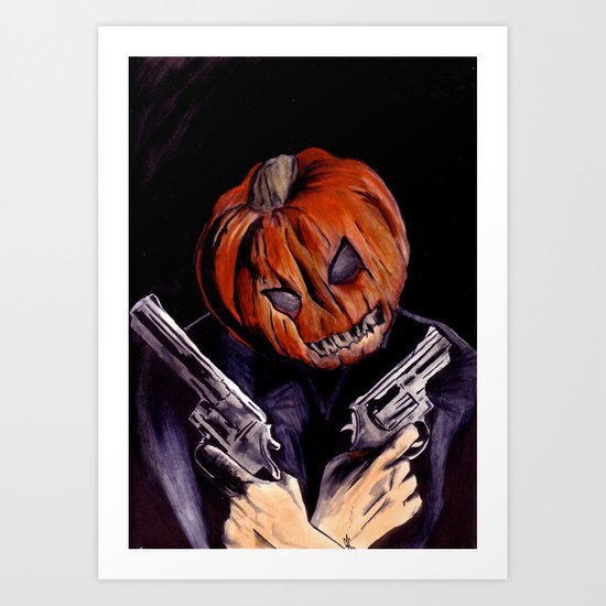 I'm Your Boogeyman Art Print