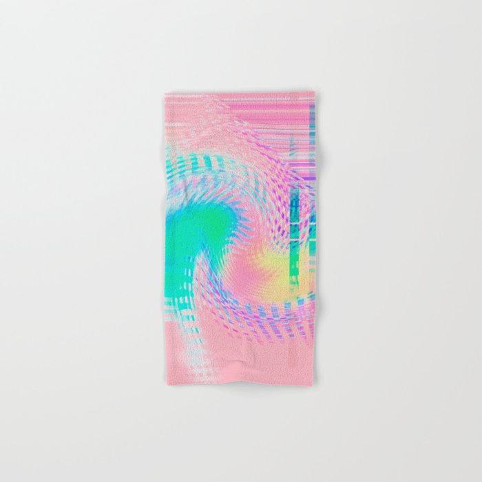 Distorted signal 03 Hand & Bath Towel