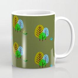 Trees pattern Coffee Mug