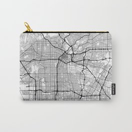 Minimal City Maps - Map Of Los Angeles, California, United States Carry-All Pouch