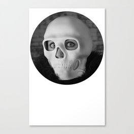I want your skullz Canvas Print