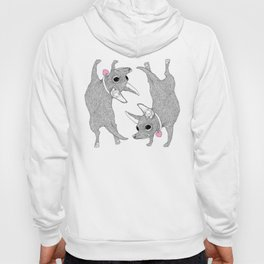 Double Chihuahua Handstand Hoody