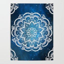 Mandala into Galactic stars Poster