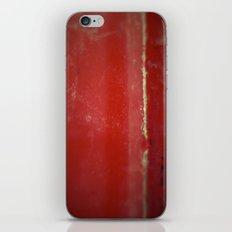 Red Plate iPhone & iPod Skin