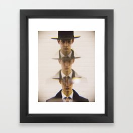 3 Hats Framed Art Print