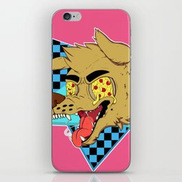 PIZZA DOG (80's vers) iPhone Skin
