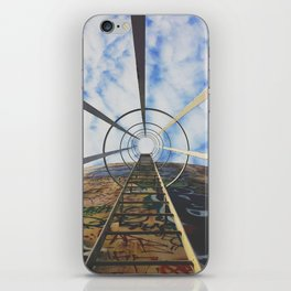 Up The Rabbit Hole iPhone Skin