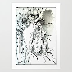Apparitia Doll Art Print