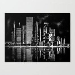 Steel City Canvas Print