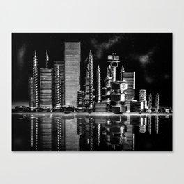 Steel City Canvas Print