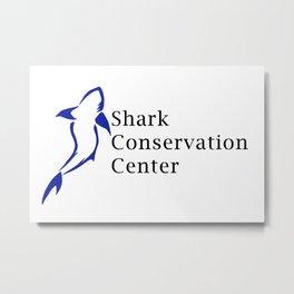 Shark Conservation Center Metal Print