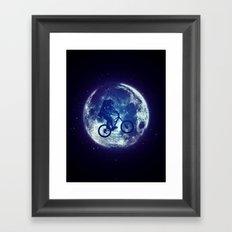 E.T.B. Framed Art Print