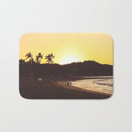 Sayulita sunset Bath Mat
