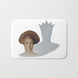 Her Hair, Her Crown Bath Mat