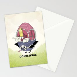 DOUBLE KING: Ovum Regia Stationery Cards