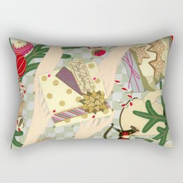 Merry Christmas gift Rectangular Pillow