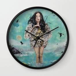 Oh the humanity Wall Clock