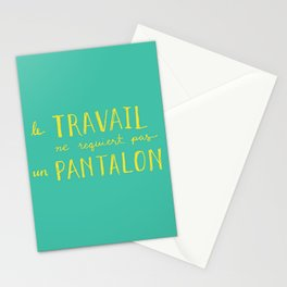 No Pants Stationery Cards